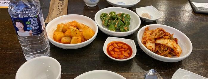 발산삼계탕 is one of Korean food.