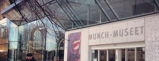 Munchmuseet is one of Oslo touristmode.