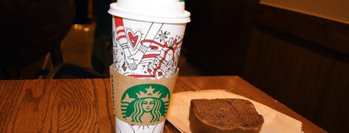 Starbucks is one of Locais curtidos por Andres.