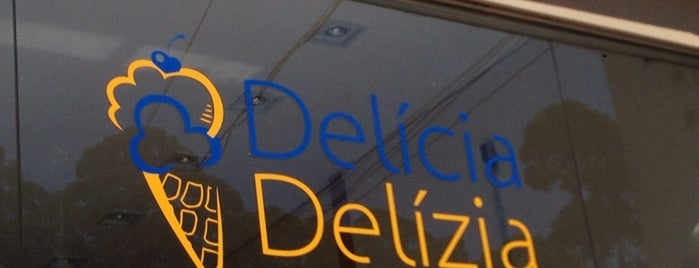 Delícia Delizia Gelateria is one of Henri's TOP Gelaterias.