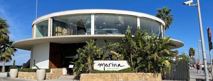 Marina Beach Club is one of Valencia - restaurants & tapas bars.