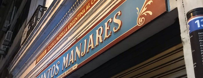 Santos Manjares is one of Buenos Aires.