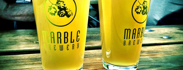 Marble Brewery is one of X-Country.