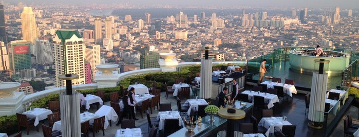 Lebua at State Tower is one of Les plus beaux rooftops !.