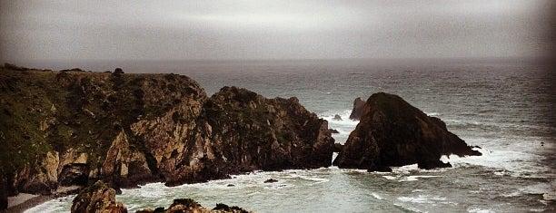 Praia da Azenha do Mar is one of Lieux sauvegardés par MENU.