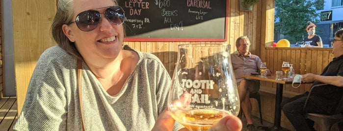 Tooth and Nail Brewing Company is one of Ottawa for FWD50.