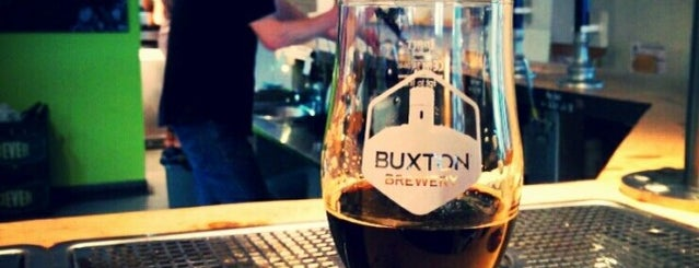 Buxton Brewery Tap House is one of Beer / Ratebeer's Top 100 Brewers [2018].