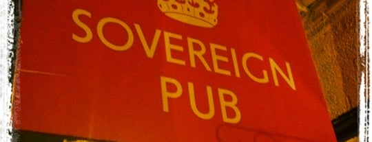 Sovereign Pub is one of To Drink List.