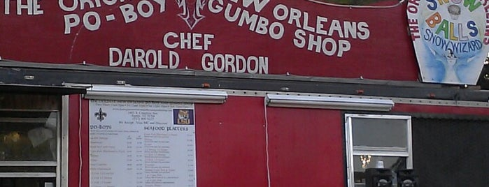 The Original New Orleans Po-Boy and Gumbo Shop is one of Food Trucks.