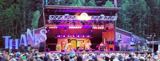 Telluride Bluegrass Festival is one of concert venues 1 live music.