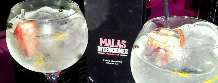 Malas Intenciones Premium Bar is one of Sitios visitados.