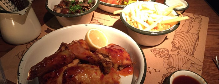 Soho Chicken is one of Lieux qui ont plu à Josh.