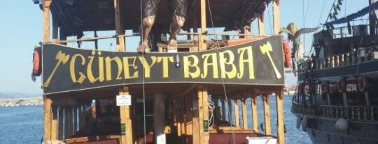 Cüneyt Baba Yacht Tour is one of Yunus'un Beğendiği Mekanlar.