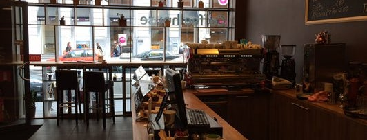 Bocca Moka Coffee & Bagel House is one of S Marks The Spots in BRUSSELS.