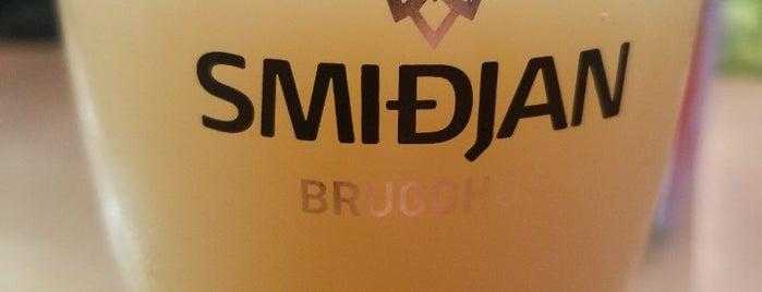 Smiðjan Brugghús is one of Iceland.