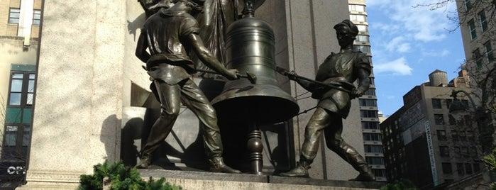 James Gordon Bennett Monument is one of Monuments.