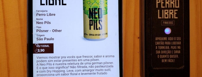 Perro Libre Pinheiros is one of Beer.