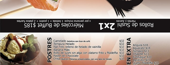 Dragon Sushi is one of Promociones.