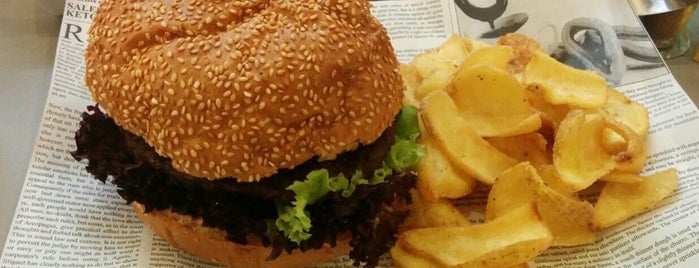 Veggie Burger is one of Vienna [Vegan].