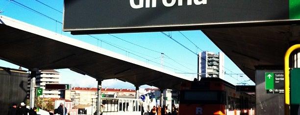 Estació de Girona is one of Tempat yang Disimpan Galina.