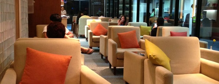 Coral Executive Lounge is one of visited int..