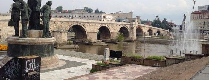 Камен мост / Stone Bridge is one of Skopje.