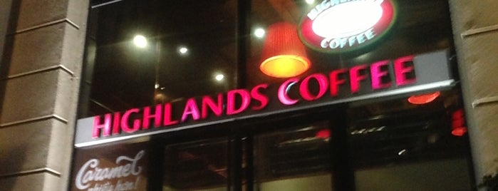 Highlands Coffee is one of ハノイ.