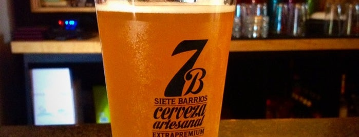 Cervecería 7B is one of SLP.