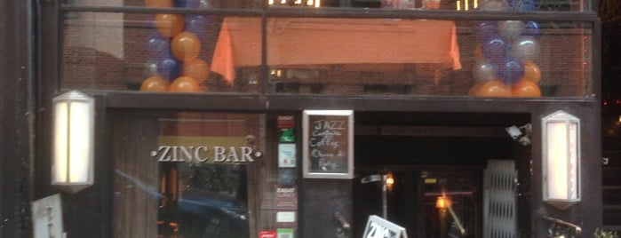 Zinc Bar is one of NYC Drinks.