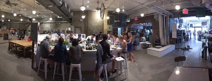 Gansevoort Market is one of Food Halls.