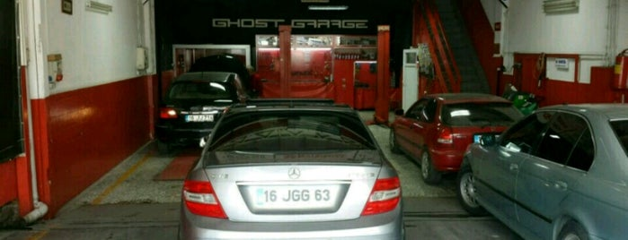 Ghost Garage is one of Lieux qui ont plu à Murat karacim.