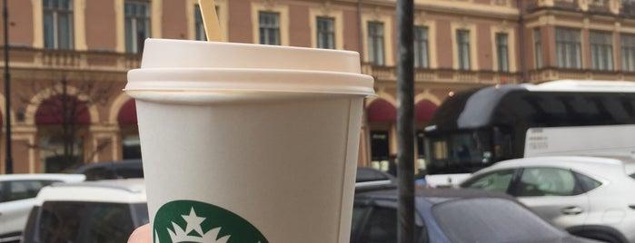Starbucks is one of Lugares favoritos de Olga.