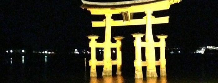 厳島神社 is one of 日本夜景遺産.