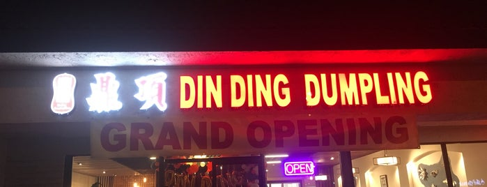 Din Ding Dumpling House is one of Mysteryさんのお気に入りスポット.