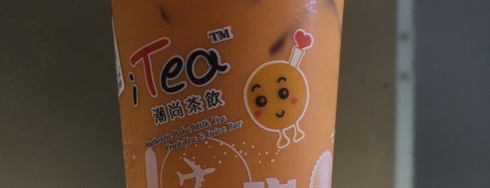 iTea is one of Mysteryさんのお気に入りスポット.