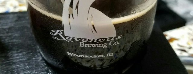 Ravenous Brewery is one of Local Brews.