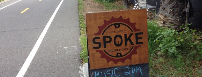 Spoke Bicycle Cafe is one of Posti che sono piaciuti a Charles.