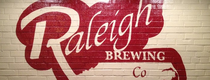 Raleigh Brewing Company is one of Triangle Area Breweries.