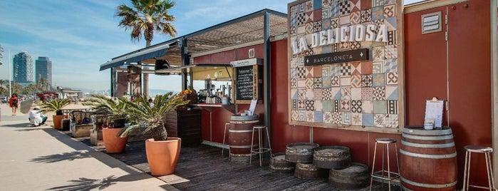 La Deliciosa Beach Bar is one of Barcelona centre.