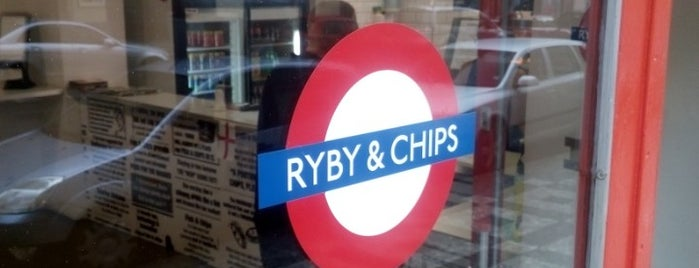 Ryby & Chips is one of Prague.