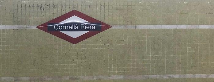 FGC Cornellà Riera is one of Carlos : понравившиеся места.