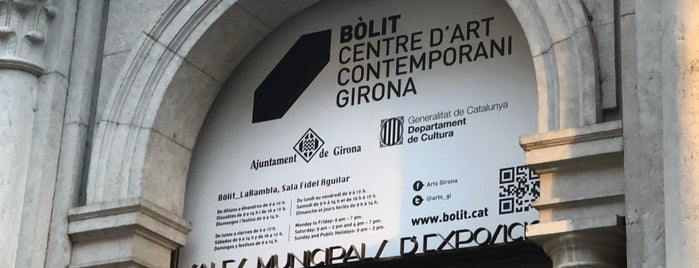 Bòlit Centre d'Art Contemporani de Girona is one of สถานที่ที่ Miguel ถูกใจ.