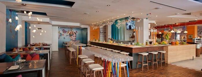 Oyamel Cocina Mexicana is one of Washington DC.