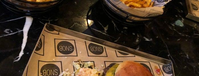 SNOB - Street Food Bar is one of Semi.