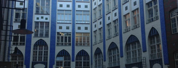 Die Hackeschen Höfe is one of Berlin.