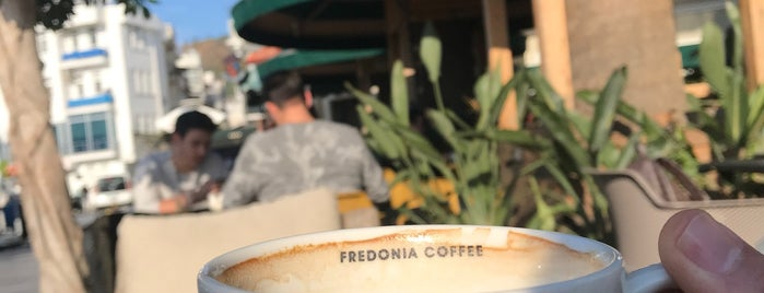 Fredonia Coffee is one of Locais salvos de Zafer.
