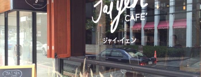 Jaiyen Café (ใจเย็นคาเฟ่) ジャイーイェン is one of Interested.