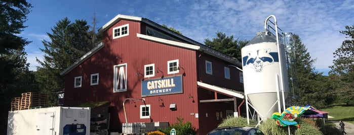 Catskill Brewery is one of Upstate NY.