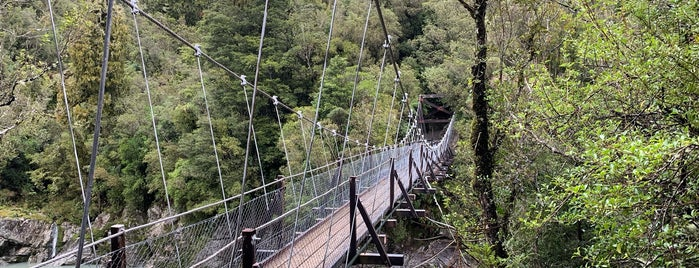 Hokitika Gorge is one of New Zealand.