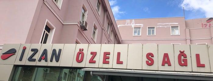 İzan Özel Sağlık Hastanesi is one of Posti che sono piaciuti a Damla.